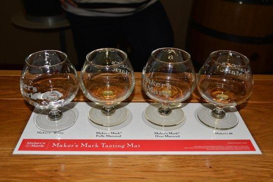 Maker's Mark : Tasting