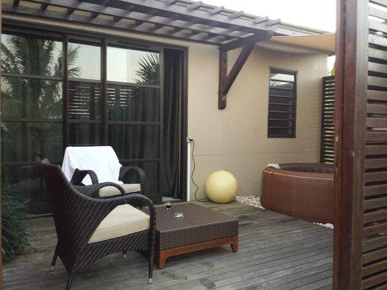 Petite-Ile, Réunion: Une belle terrasse pour mieux profiter du soleil de la Réunion