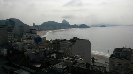 Copacabana Rio Hotel: Vista da cobertura