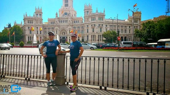 Madrid Outdoor Sports: Madrid Sight Running Tour July 2014