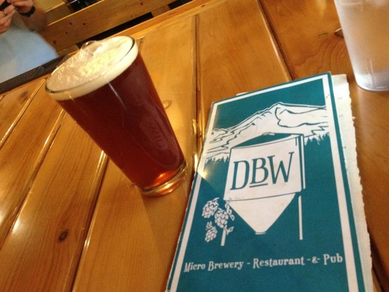 Dunsmuir Brewery Works: The house Red IPA