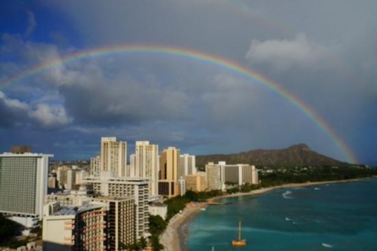 Sheraton Waikiki: A perfect day to check in!