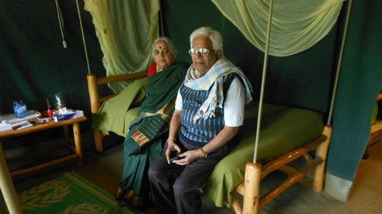 Kibo Safari Camp : Inside the tent