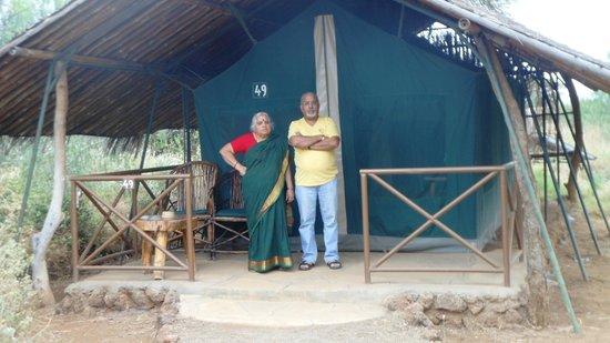 Kibo Safari Camp: The tent