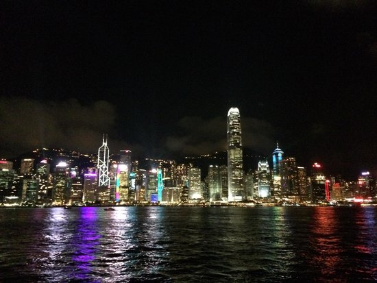 Victoria Harbour: Great view !
