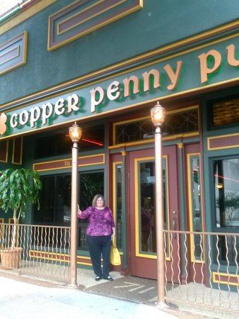 Copper Penny Pub: Lunch the next day!