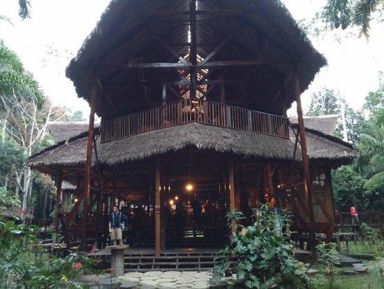 Refugio Amazonas: Lodge entrance