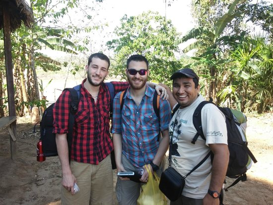 Refugio Amazonas: Tyler, David and our guide Moises