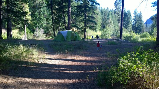 Hause Creek Campground: Our camp