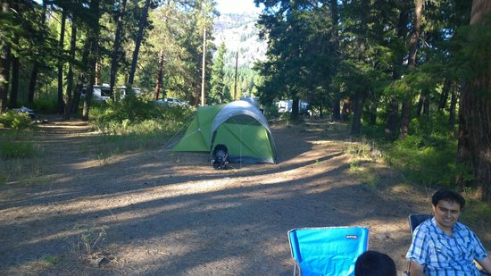 Hause Creek Campground: Our campsite