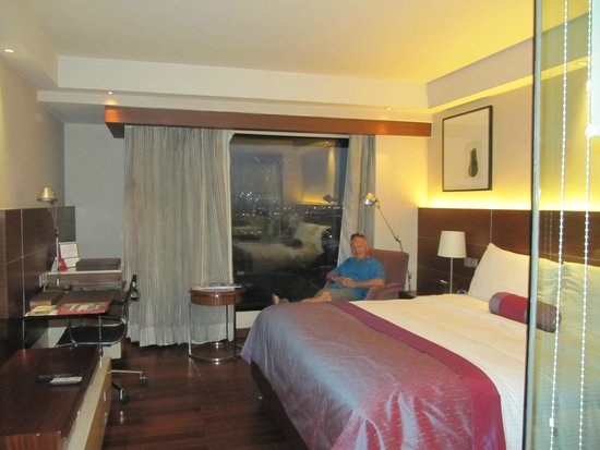 The Lalit New Delhi: Relaxing in room