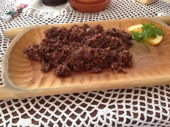 Morskie Oko: black pudding
