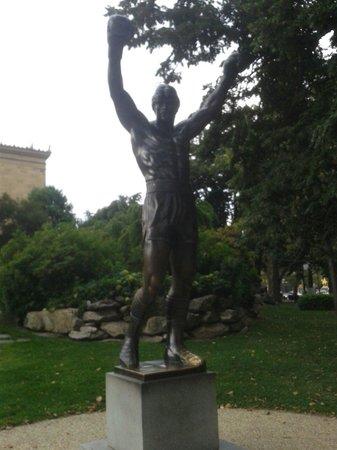 Rocky Statue : Statua