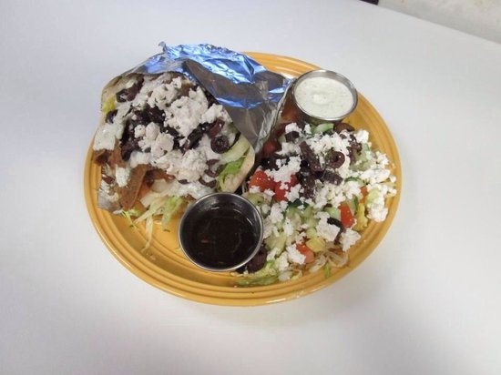 Bombay Garden & Greek Eats: Gyro