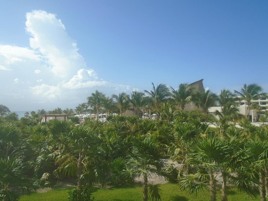 Secrets Maroma Beach Riviera Cancun: The view from our room