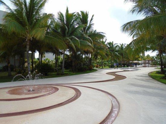 Secrets Maroma Beach Riviera Cancun: Hotel grounds