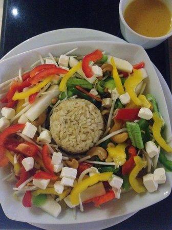 Friendship Beach Resort & Atmanjai Wellness Centre: Healthy option - brown rice salad