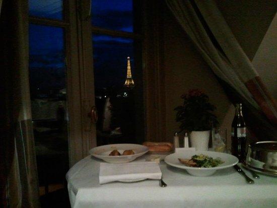 The Westin Paris - Vendome: Room service with a view (2013 visit)