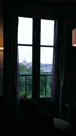 The Westin Paris - Vendôme : View from lying in bed (2014 visit)