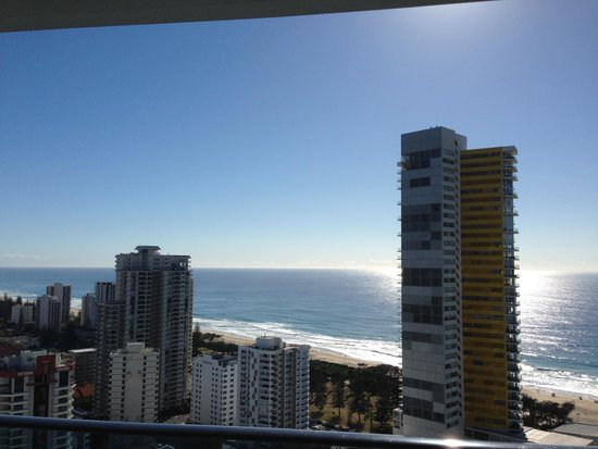 Peppers Broadbeach: View from the 28th floor
