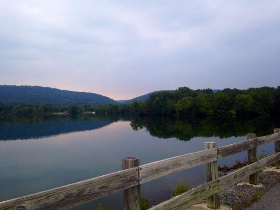 Grantville, PA: View from the bridge