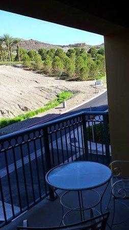 Aston MonteLago Village Resort: A balcony in Las Vegas, what a concept!