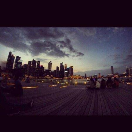 Waterfront Promenade: #ronnykeff #singapore #marinabaysand #selfcapture #softlighting #manfrotto #carbon