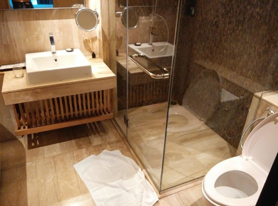 Arcadia Suites Bangkok by Compass Hospitality : Shower place