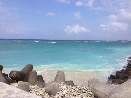 Tonaki-jima Island: 渡名喜ブルーの海