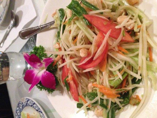 Marnee Thai : Papaya salad