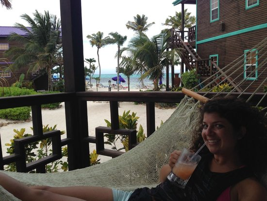 X'tan Ha Resort: view from the patio