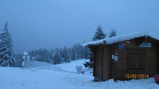 Station de Ski du Lac Blanc : paysage