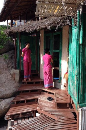 Charm Churee Villa: Le capanne-stanze