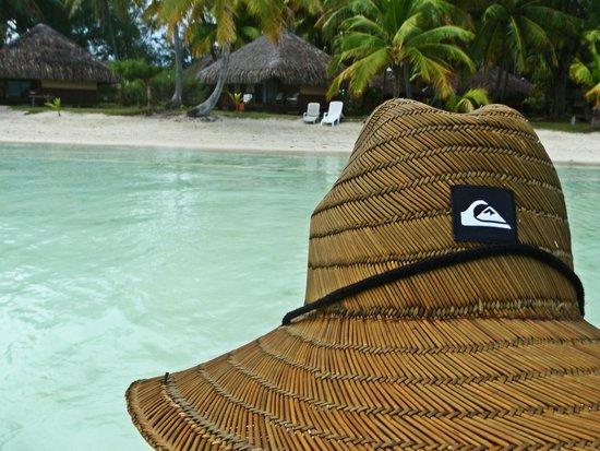 Eden Beach Hotel Bora Bora: Our Bungalow #3