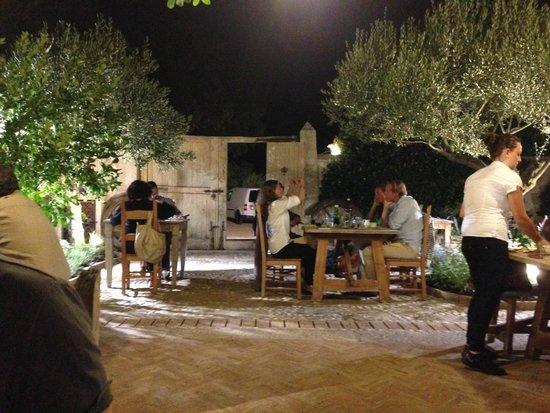 Agriturismo La Colti: The courtyard