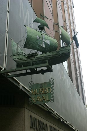 Naval Museum : Вывеска музея