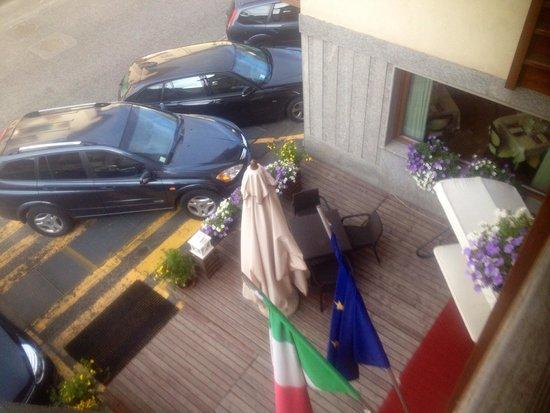 Hotel St Michael: Vista camera