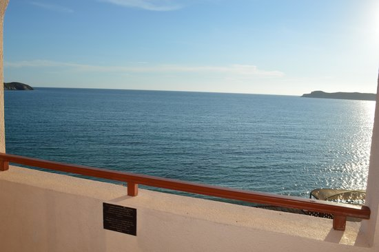 Sea of Cortez Beach Club: My balcony view from Room 301