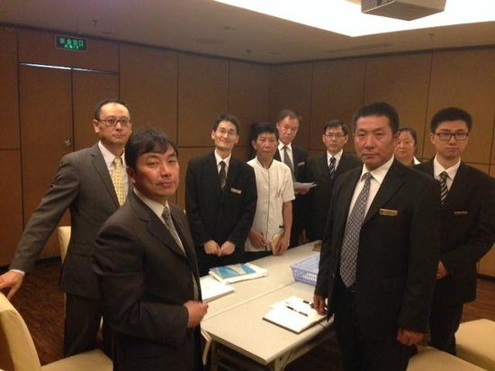 Jinjiang MetroPolo Hotel Shanghai Tongji University: Management Team greets you