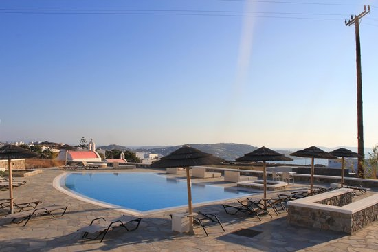 Aeolos Mykonos Hotel: A view of the pool