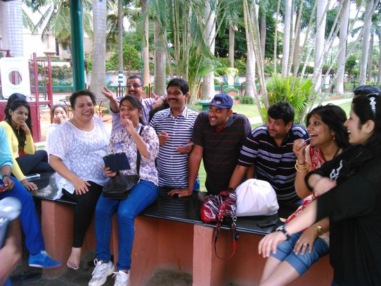 Ramanashree California Resort Bangalore: Fun time...