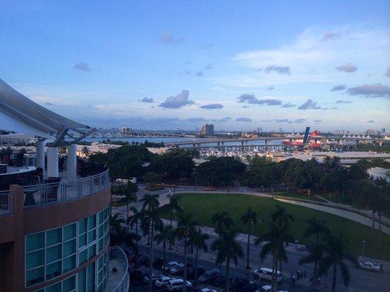 YVE Hotel Miami: Vista stanza al 10 piano