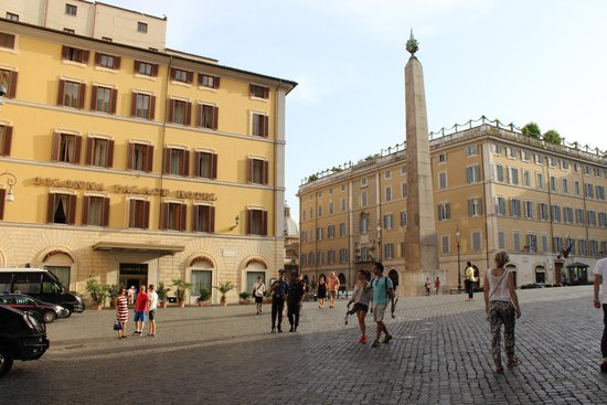Colonna Palace Hotel : Отель