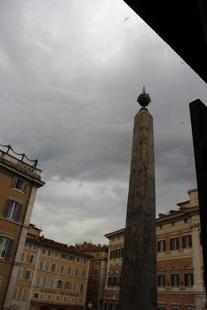 Colonna Palace Hotel : Вид из номера
