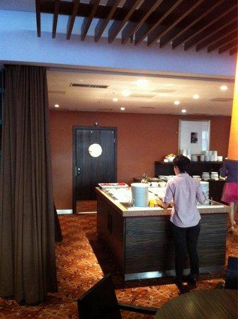Albert Hotel: Sala colazione