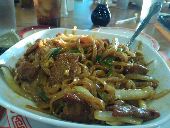 Red Moon Chinese Cafe: Beef Chow Fun