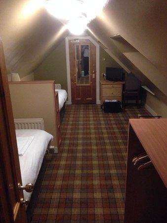 Kilmarnock Arms Hotel: Top Floor