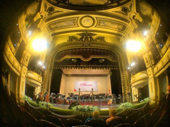 Hanoi Opera House: The stage