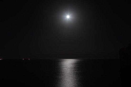 Diverhotel Aguadulce: Luna llena