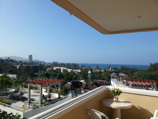 Pacific Club Resort : Вид из номера 4го этажа